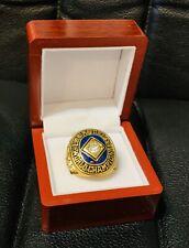 RARE 1959 Los Angles Dodgers World Series Championship Ring Display Box USA