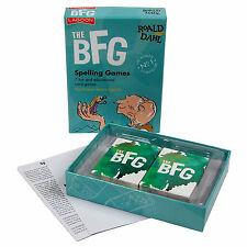 THE BFG SPELLING GAMES - Family/Kids/Travel/Gift/Educational
