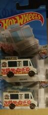 2019 Hot Wheels QUICK BITE 189/250 HW METRO 1/10 Shaved Ice Food Truck LOT OF 2