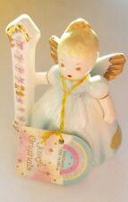 Vintage Josef Originals Birthday Girls 1st Birthday Porcelain Angel by Applause