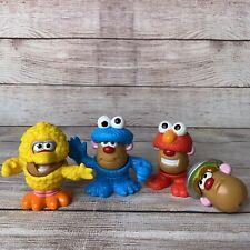 Mr Potato Head Sesame Street Mini Set Street Spuds Playskool MISSING SOME PARTS