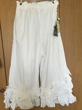 Ritanotiara OSFA Magnolia arco nieve Perla Algodón peculiar en capas pantalones pantalones