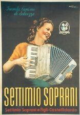 Original Plakat - SETTIMIO SOPRANI