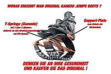 ORIG. KANGOO JUMPS XR3 Springschuhe BLACK/ORANGE Gr. M (passend für 39-41,5)
