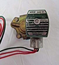 """ASCO RED-HAT 3/8"""" SOLENOID VALVE MP-C-080 238210-032D"""