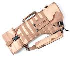 Foam Padded Molle Tactical Rifle Scabbard Sleeve Case w/ Sling Desert Camo