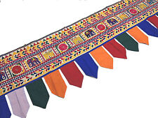 Decorative Doorway and Window Topper - Huge 196 inch Long Indian Wall Valance