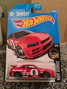 Hot Wheels Nissan Skyline GT-R (R34)