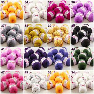 Sale new soft 8balls x 50g Baby Cashmere Silk Wool Children hand knitting Yarn