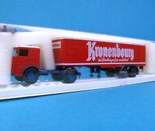Brekina H0 7905 BÜSSING Koffer-Sattelzug KRONENBOURG Bier LKW HO 1:87 Box
