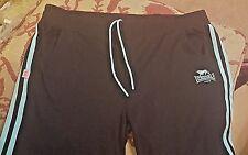 LONSDALE Size 14 Sport Jogger Shorts Light Blue Trim