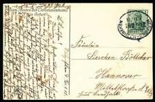 261092) DR Germania Bahnpostblg. Herford - Altenbeken 1911