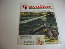 Vintage CAVALIER magazine JUNE 1960 JOY HARMON; MERCEDES BENZ; LOU NOVIKOFF - VG