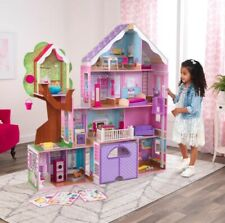 Casa delle bambole in legno mansion treehouse retreat kidkraft dollhouse