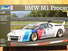 Revell 1:24 BMW M1 Procar Car Model Kit
