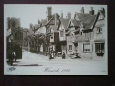 Warwick Unposted Printed Collectable Warwickshire Postcards