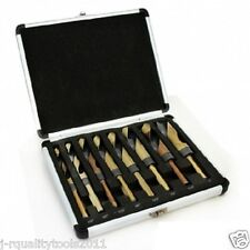 "INDUSTRIAL 8PC SILVER & DEMING DEMMING JUMBO DRILL BIT SET 9/16""- 1"" WITH CASE"
