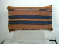 "Handicraft Pillow Hemp Striped  Ethnic Tribal 16"" x 10"" Moroccan Bolster"