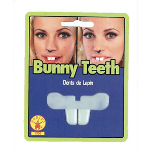 Bunny Teeth Adult Child Plastic Rabbit Fake Toy Easter Costume Halloween Mouth