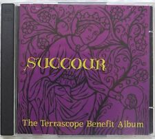 SUCCOUR THE TERRASCOPE BENEFIT ALBUM Flydaddy 1997 2X cd Ptolemaic Terrascope