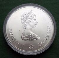 1973 Canada Coin 5 Dollars Elizabeth II Kingston and Sailboats Silver KM# 84