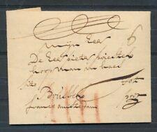 EO BRIEF ALKMAAR-BRUSSELS 27 JULY 1740,FRANCO AMSTERDAM EN SITO.PORT 6 SOL ZL873