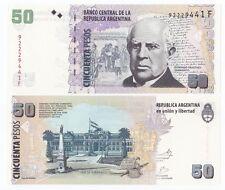 Argentina P-356 2012 50 Pesos Series F (Gem UNC)