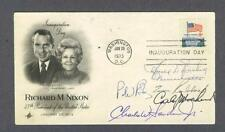 Richard Nixon 1973 Impeachment Committee signed first day cover from (5)