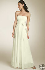 BCBG MAXAZRIA Strapless Silk Gown ( Size 10)