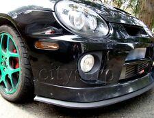 Universal Front Bumper Lip Splitter Chin Spoiler Body Kit Valance Wing DODGE