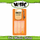 Rico 1 1/2 Strength Bass Clarinet Reeds - 3 Pack - Bass Clarinet Reed Box of 3