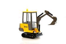 DIE-CAST METAL 1:35 SCALE JCB 801 MINI EXCAVATOR CONSTRUCTION VEHICLE - NEW