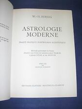 Astrologie Traité d'astrologie moderne et d'astrologie scientifique Hirsig 1950