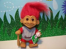 "ST. LOUIS CARDINALS SPORTS TROLL - 5"" Russ Troll Doll - NEW IN ORIGINAL WRAPPER"