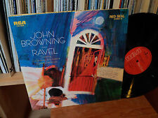 LP-JOHN Browning joue Plays Ravel RCA RED SEAL