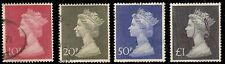 Great Britain Used Mh 165-168 (W929)