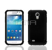 Impact Hybrid Shock Proof Case Cover For Samsung Galaxy S4 Mini i9190 - Black