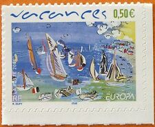 STAMP / TIMBRE FRANCE NEUF N° 3672 ** EUROPA / LES VACANCES / ISSUS DE CARNET