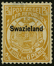 Swaziland   1889   Scott # 6   Mint Hinged - Thinned at Top