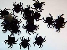 50 Black Spider Halloween Die Cut Confetti Paper Punches