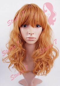 W177 Ginger Medium Length Wavy Wig - studio7-uk