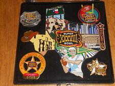 SUPER BOWL XXXVIII ......10 Pins.. Commemorative Pin Set.....# 723 / 5000