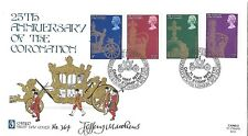 GB: 1978 Coronación-Cameo Cubierta-Cameo cancelar-firmado Jeffrey Matthews