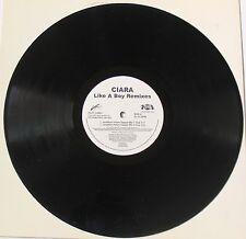 "Ciara  Like A Boy Remixes 12"" Promotional Vinyl Single - 2007 Zumba"