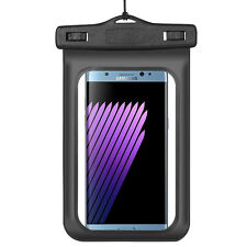 New Waterproof Underwater Pouch Case Bag For Samsung Galaxy Note 7 Note 5 Black