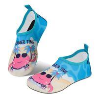 IceUnicorn Water Socks for Toddler Kids Beach Swim Socks Boys Girls Non Slip ...