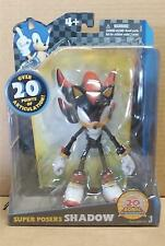 SONIC THE HEDGEHOG SUPER POSERS SHADOW FIGURE 20th ANNIVERSARY NEW JAZWARES