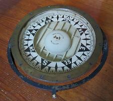 """Rare E.S. Ritchie 10 1/2"""" Marine Compass - Boston #25741"""