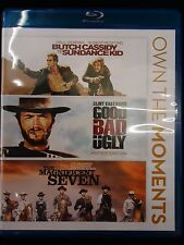 Butch Cassidy & Sundance Kid/Good,Bad,Ugly/Magnifi cent Seven (3-Blu-ray set)
