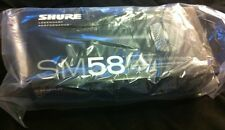 Shure SM58S Dynamic Vocal Microphone with On/Off Switch  w/ Clip & Pouch Fashion